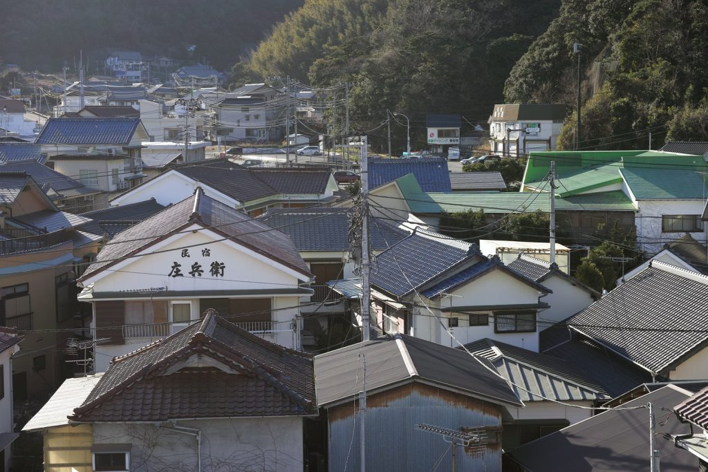 Kumomi Onsen, Shizuoka, Japan