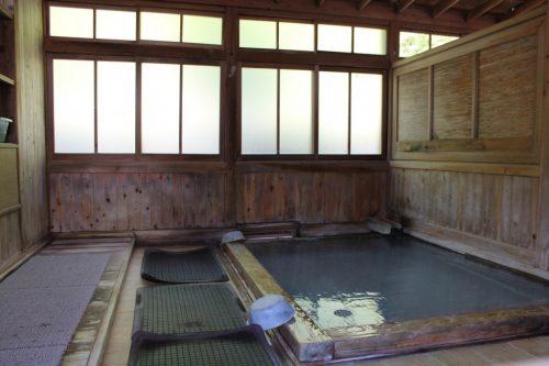 Öffentliches Bad 3 Tamago-yu Takayu, Fukushima, Japan