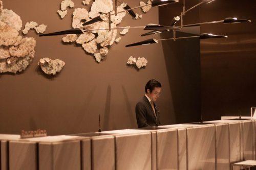 Empfang des Prince Gallery Tokyo Kioicho, Tokio, Japan
