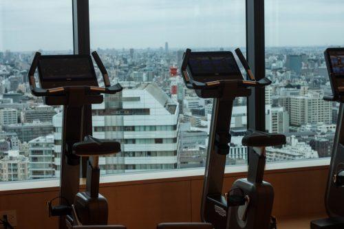 Fitness im Prince Gallery Tokyo Kioicho, Tokio, Japan