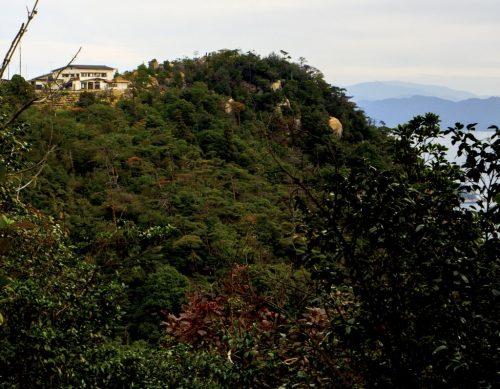 Mount Misen Seilbahn auf der Insel Miyajima, Hiroshima, Japan