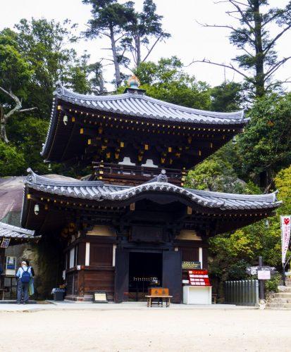 Reika Do, ein weiterer Pavillon auf dem Berg Misen, Miyajima, Hiroshima, Japan.