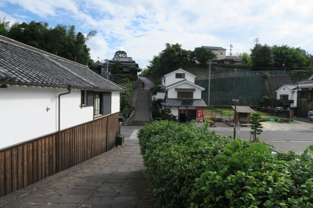 Das Gebiet bietet nicht nur Schönheit, sondern auch die große Geschichte der echten Samurai, Kitsuki, Oita, Japan