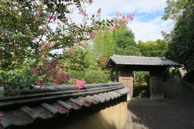 Das Dach mit diesen markanten Strukturen ist ziemlich einzigartig, Kitsuki, Oita, Japan