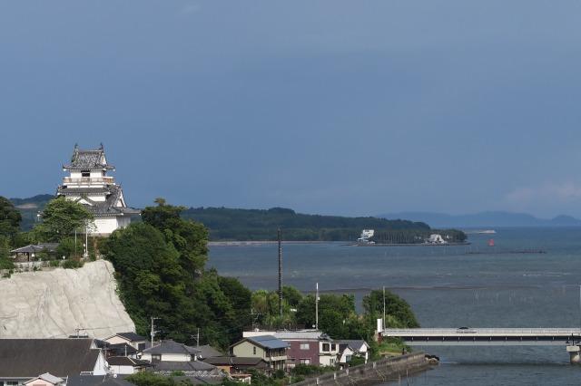 Kitsuki historisches Burgmuseum und ein spektakulärer Aussichtspunkt, Kitsuki, Oita, Japan
