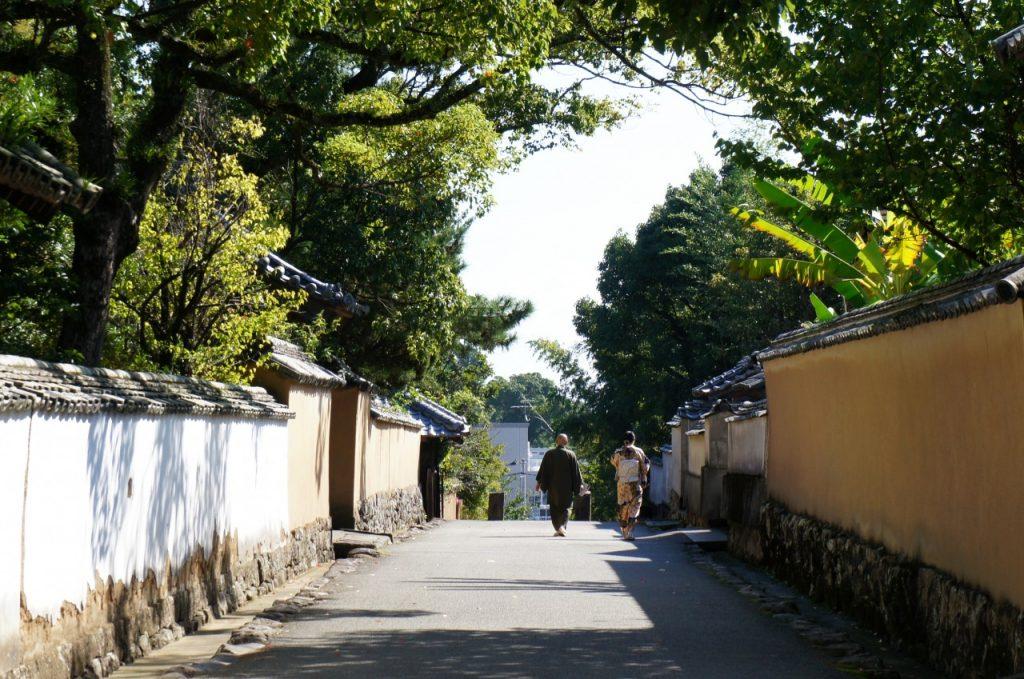 Die Kitsuki Burg befindet sich in der Präfektur Oita, Japan