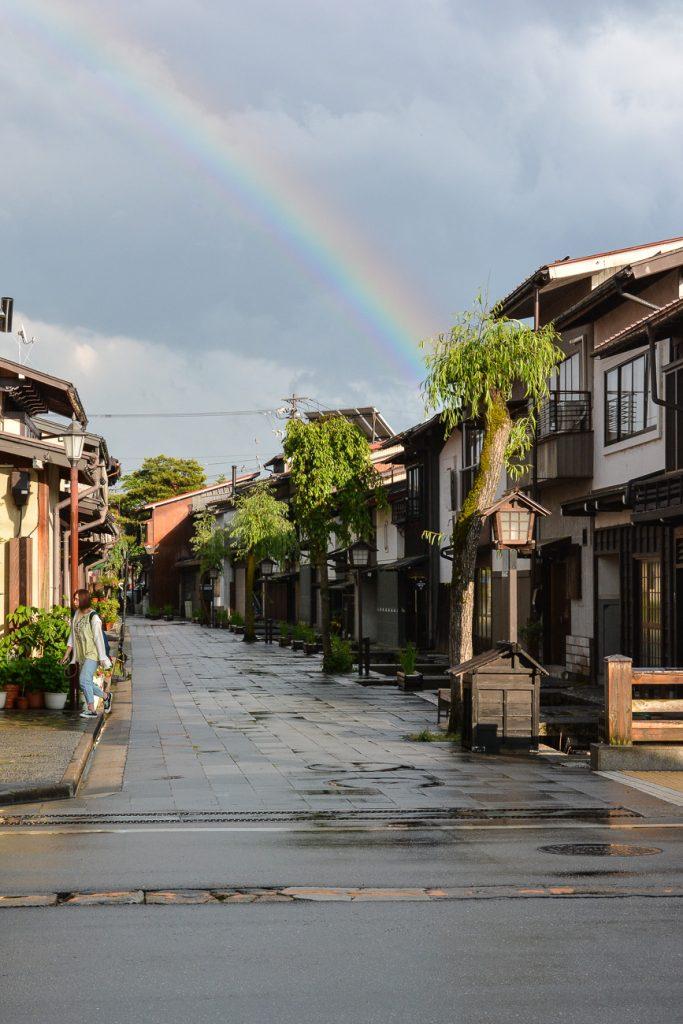 Ländliches und traditionelles Japan mit dem Fahrrad in Hida Furukawa kennenlernen, Gifu, Japan