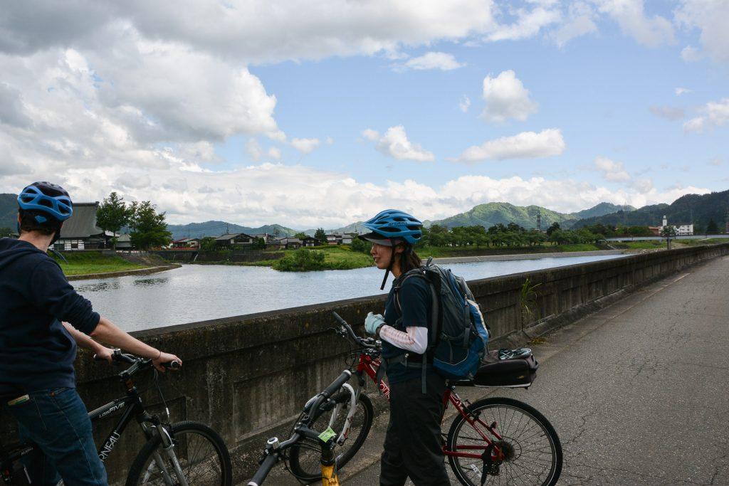 Unsere Radtour in Hida, Gifu, Japan