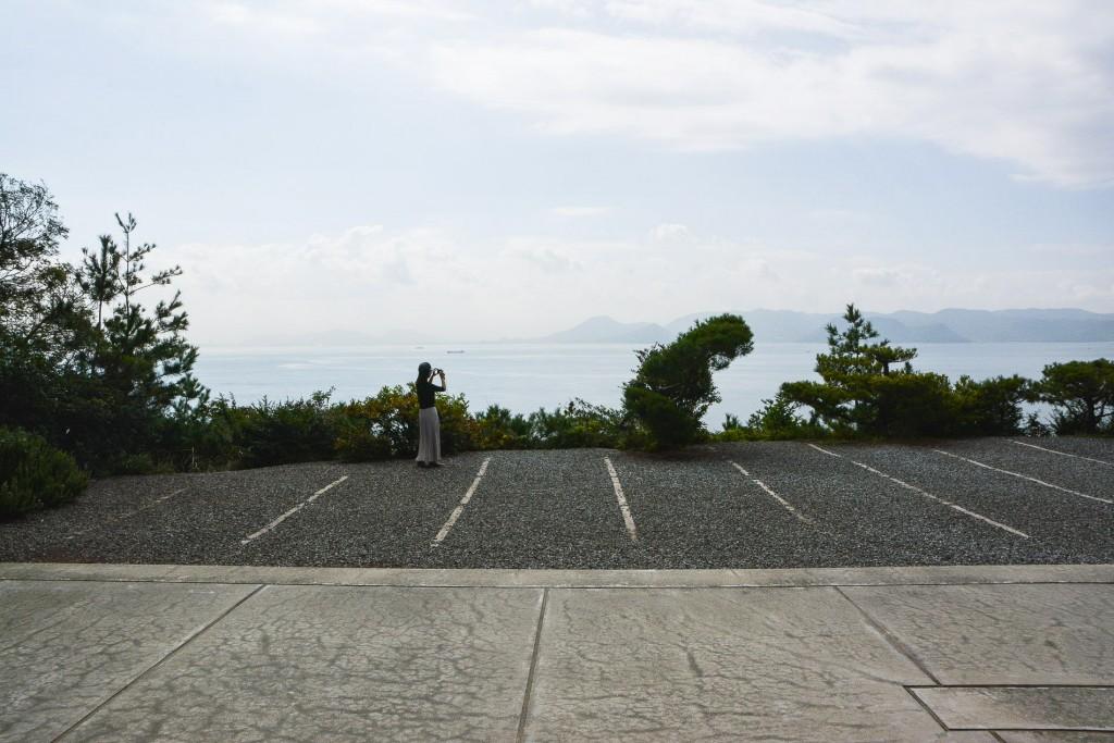 Das Chichu Kunstmuseum von Andy, Naoshima, Kagawa, Japan