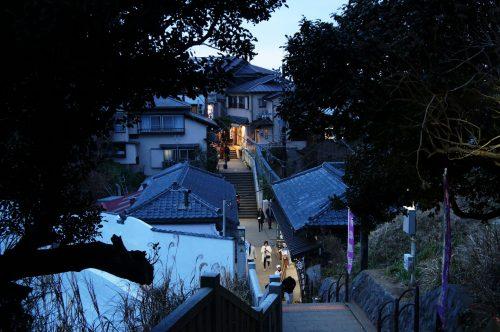 Kleinen Gassen auf Enoshima
