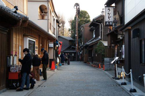 Straße in Kawagoe