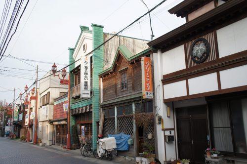 Alte Gebäude in Chichibu