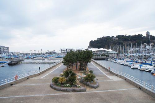 Spaziergang auf Enoshima