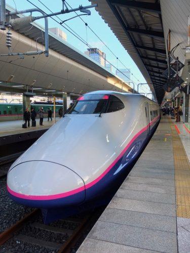 Der Joetsu Shinkansen in Tokyo Station.