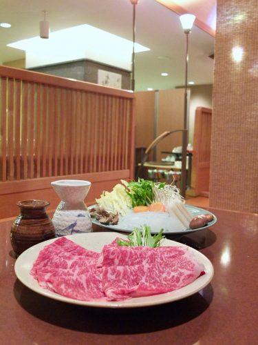Abendessen im Naeba Prince Hotel