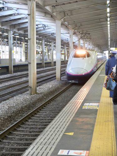 Zurück nach Tokio mit dem Shinkansen!