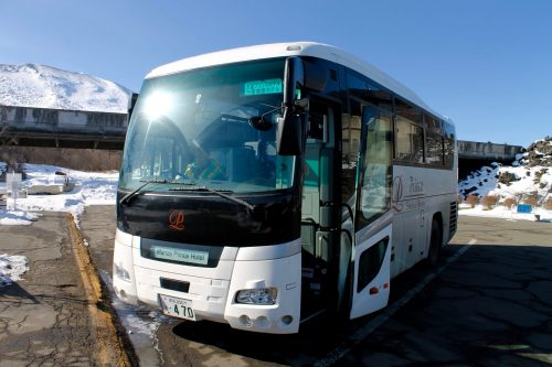Shuttle Bus des Hotels