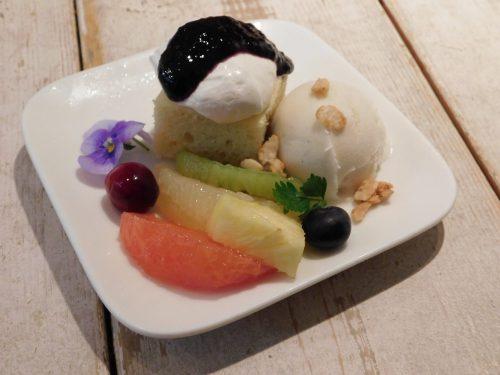 Dessert im Ain Soph.