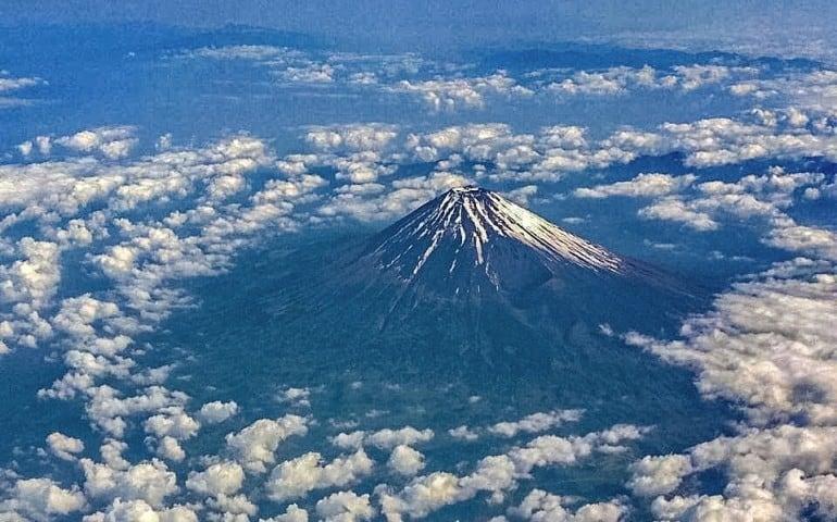 Mt Fuji in Japan
