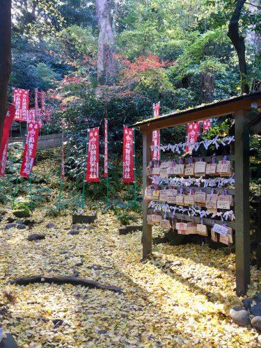 Part of the Sasuke Inari Shrine in Kamakura.