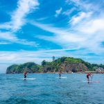 Eine Stand Up Paddle Board- Stunde in Enoshima