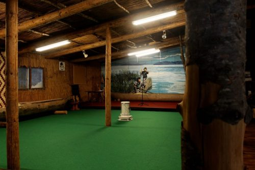 Die Gottesverehrung des Berges Daisetsuzan und die Ainu-Kultur, Hokkaido, Japan.