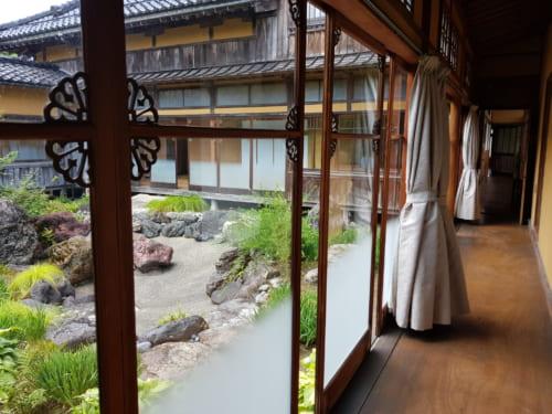 Shoraikaku Villa, Asahi-Shuzo Sake Brauerei, Präfektur Niigata, Japan.