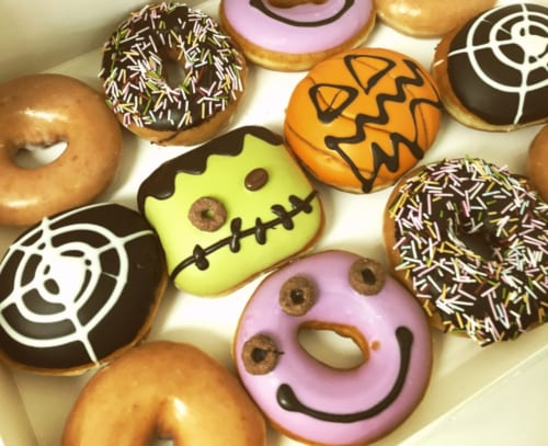 Halloween-Donuts in Japan.