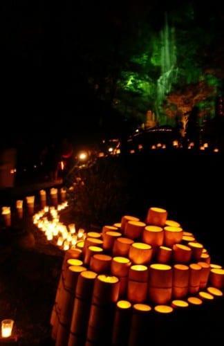 Das Laternenfest in Ogi ist nicht sehr bekannt unter ausländischen Touristen.