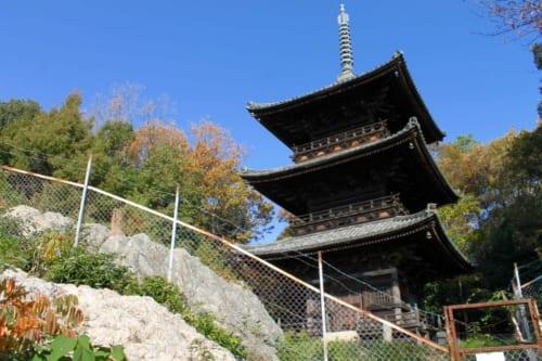 Die Aussicht auf Okayama, Japan.