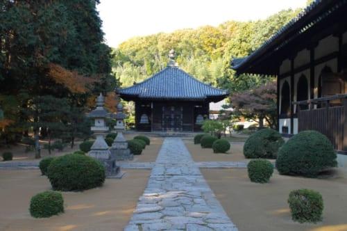 Garten des Sogenji Tempels, Okayama, Japan.