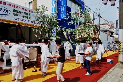 Pasacalles del festival de Tanabe (Wakayama).
