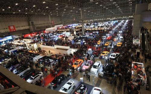 Convención con cientos de coches