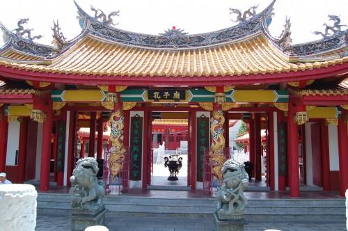 Gimon del Templo Confucionista de Nagasaki