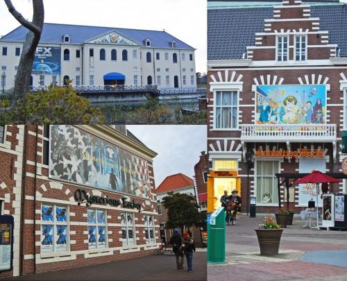 Tiendas de Huis Ten Bosch, parque temático holandés en Nagasaki