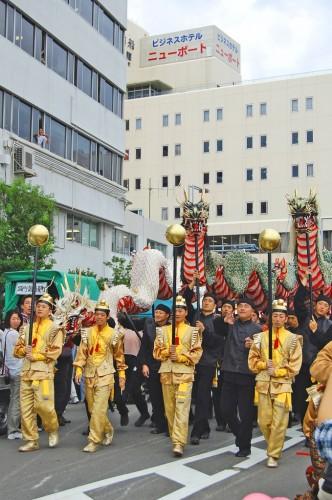 dragones festival kunchi