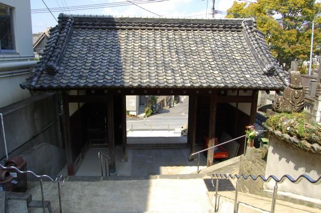 Entrada al templo Enmeiji de Nagasaki