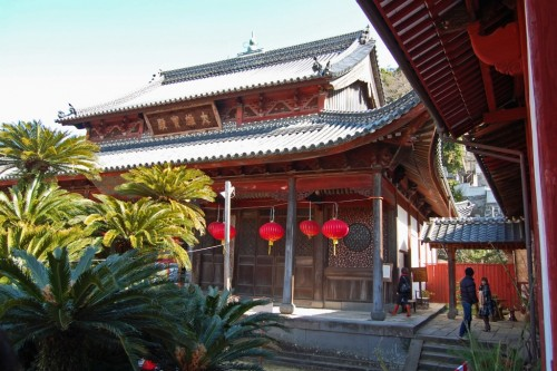 salón templo rojo