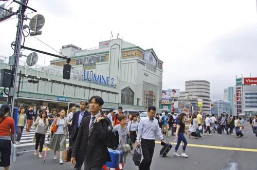 Centro comercial Lumine Shinjuku de Tokio