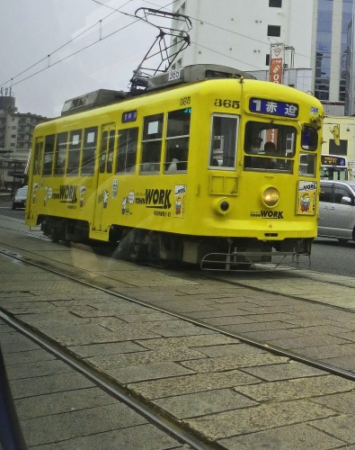 Tranvía de Nagasaki
