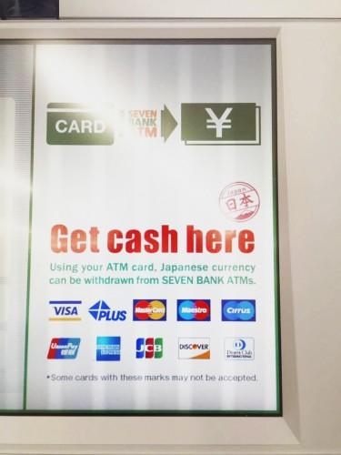 Cajero automático del 7-Eleven en Japón