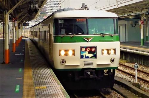 Tren Odoriko en Shizuoka.