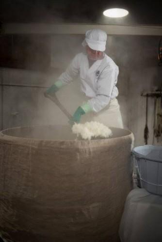 Elaboración del sake en Masuichi Ichimura