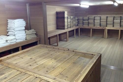 Mesa de fermentación del sake
