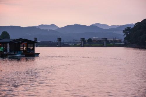 Crucero fluvial en Hita, Oita.
