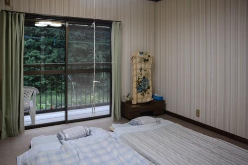 Habitación de estilo tradicional japonés en Saiki, Oita.