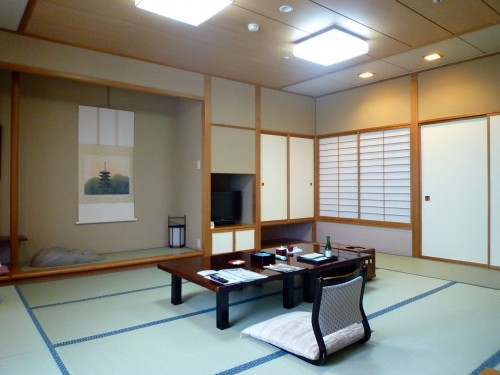 Habitación del ryokan Taikanso Senami no yu.