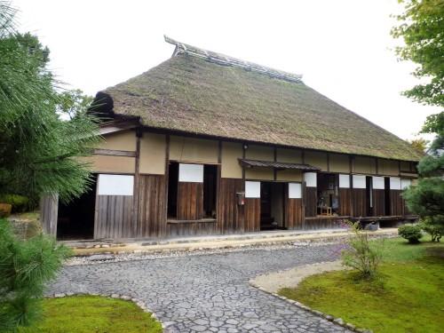 Viviendas feudales del parque conmemorativo Kinen-koen de Murakami.