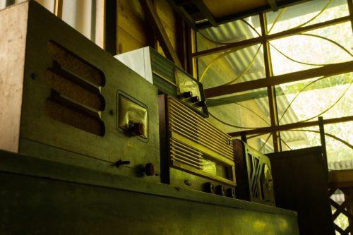 Radios antiguas en Botanchaya.