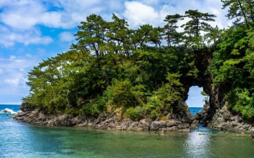 A Stunning Beach in Close Proximity to Kyoto in Takahama town, Fukui Prefecture, Japan.